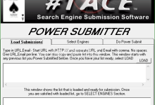 #1 ACE Search Engine Submission Software 5.0.9 Full [C] 15