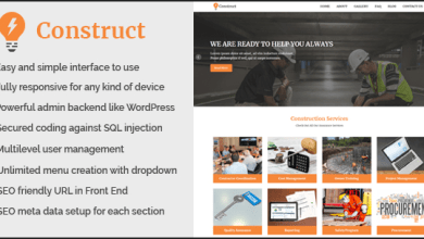Construct - Building and Construction Website CMS 6