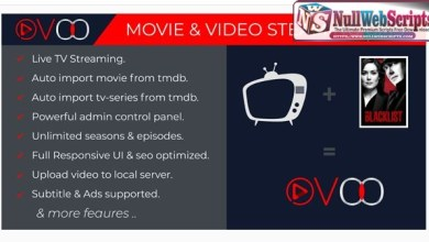 OVOO v2.5 Nulled [Movie & Video Streaming CMS with Unlimited TV-Series] 7