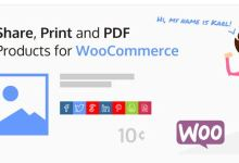 Share, Print and PDF Products for WooCommerce v2.0.4 10