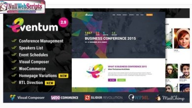 Eventum v2.9 [Conference & Event WordPress Theme for Event & Conference] 6
