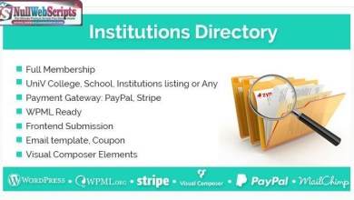Institutions Directory v1.1.8 7