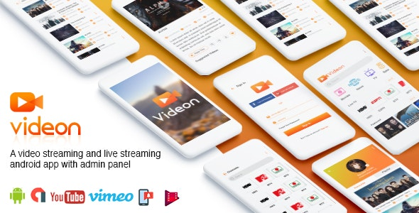 Videon v2.1.3 - A Video Streaming Android App With Admin Panel 1
