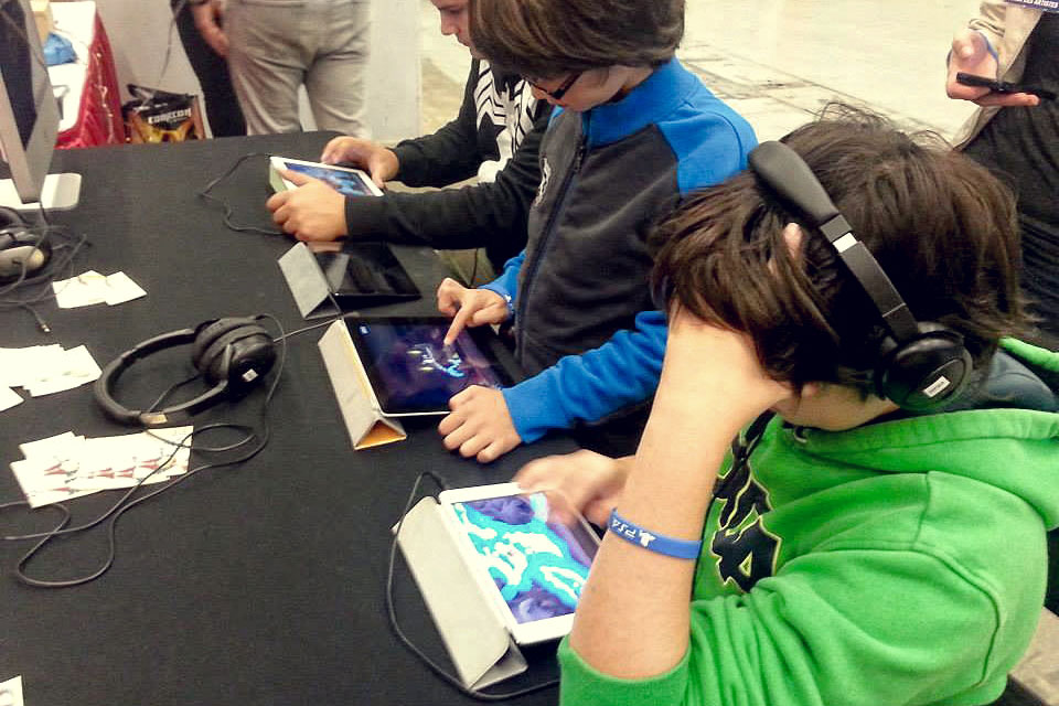 Young players who grew up in the digital age are having fun with Puzzle Axe.
