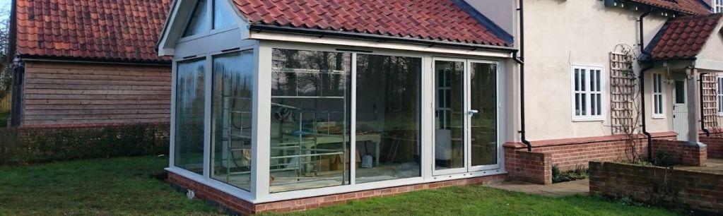 Numaga Kozijnen Nijmegen - Uitbouw volledig voorzien van kunststof kozijnen