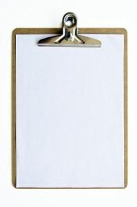 Blank paper.