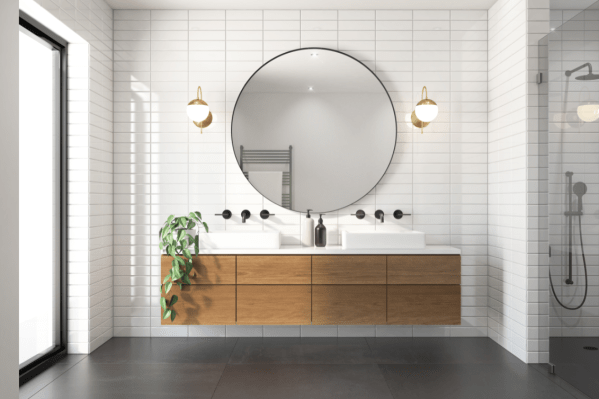 bathroom design, bathroom concept designs in 3D