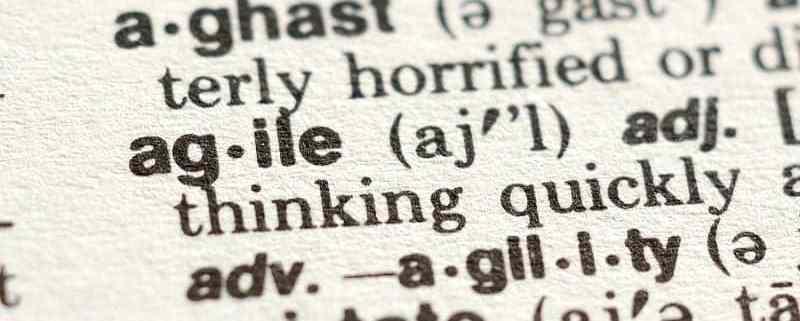 agile project management terms