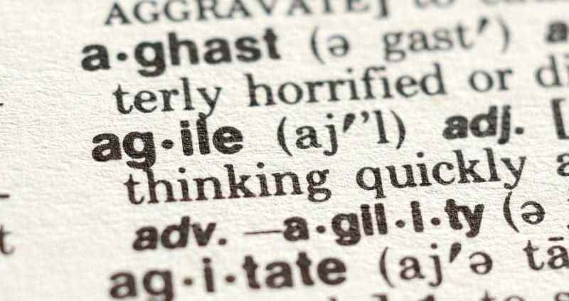 agile project management terms
