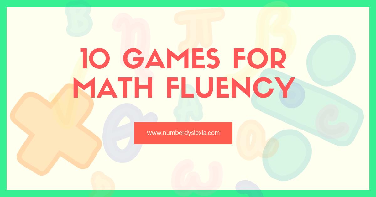 Top 10 fun games for building math fluency