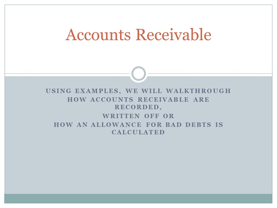 Assignment of Accounts Receivable – Trap for the Unwary