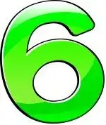 number six green