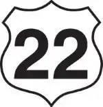 number twenty two