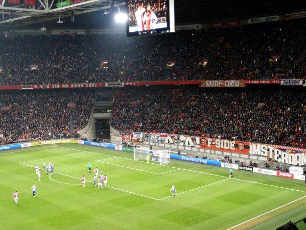 Mecz Ajaksu Amsterdam