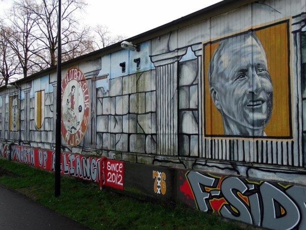 Johan Cruyff mural