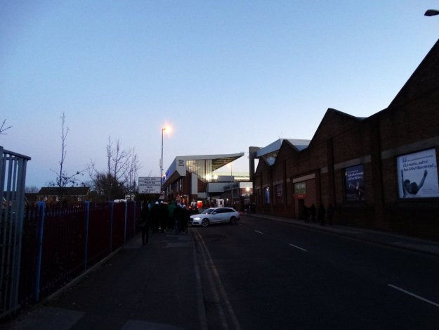 Droga na stadion Aston Villi