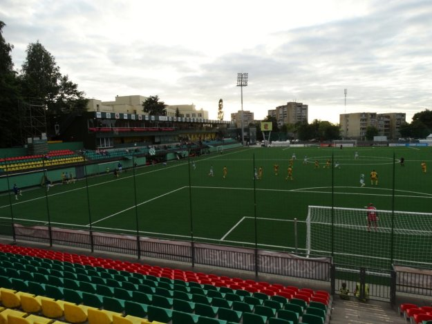 Wilno, stadion Vetry, mecz Żalgirisu