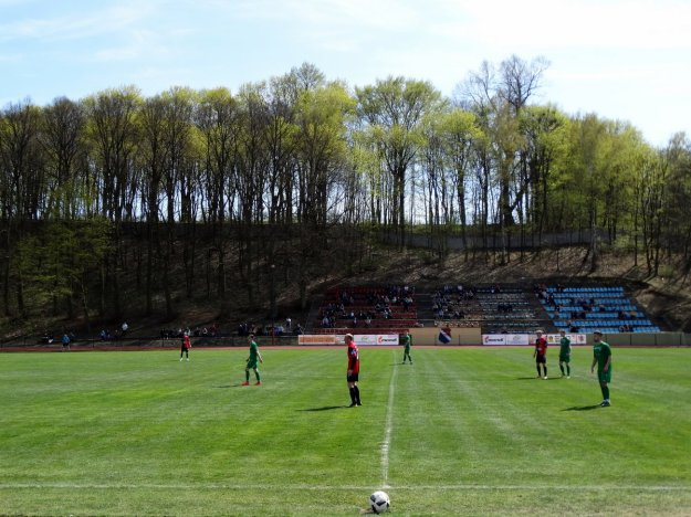 Stadion Miejski w Chełmnie.