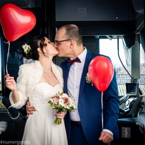 bisous des mariés