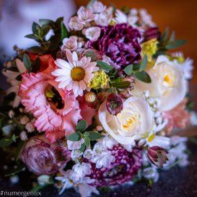 bouquet bokeh
