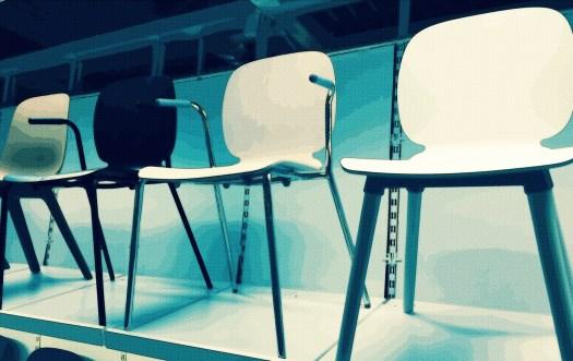 4 Straight Leg Chair Design
