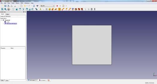 FreeCad 0.16 FEM Toolbar