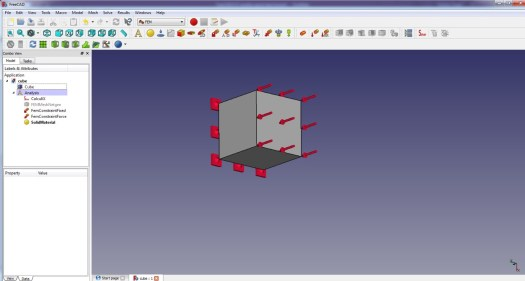 FreeCad 0.17 Boundary Conditions