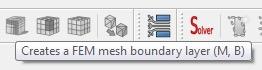 FreeCad 0.17 FEM mesh boundary layer