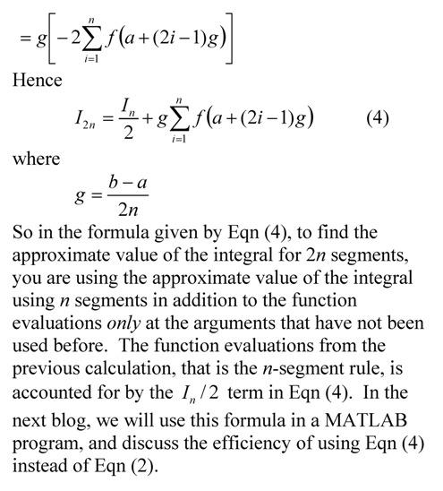 Automatic Integrator Formula