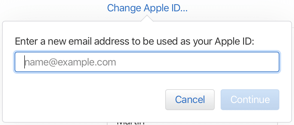 Changing your Apple ID email address - Numeric Citizen Blog