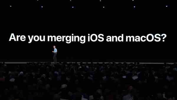 Merging iOS and macOS