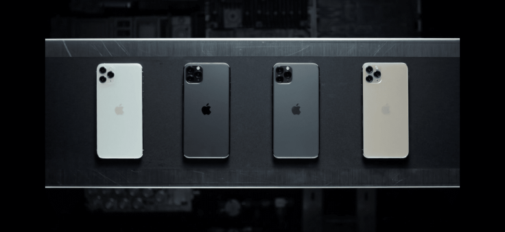 Comparing iPhone 11 Pro colour choices