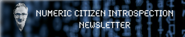 Numeric Citizen Introspection Newsletter on Substack