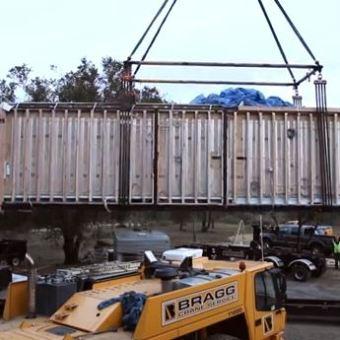 Cómo se prepara, traslada e instala una casa modular prefabricada