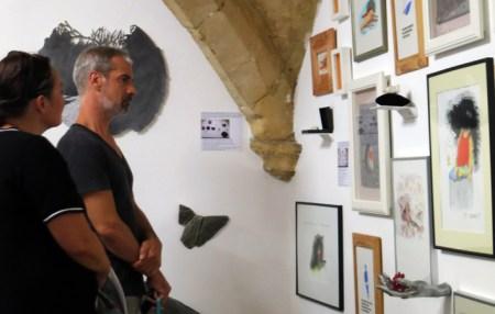 n5galerie_exposition_exercices-de-style_gilles-bingisser_clea-lala_dominique-lonchampt_montpellier_dessin-contemporain_vernissage_1