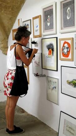 n5galerie_exposition_exercices-de-style_gilles-bingisser_clea-lala_dominique-lonchampt_montpellier_dessin-contemporain_vernissage_9