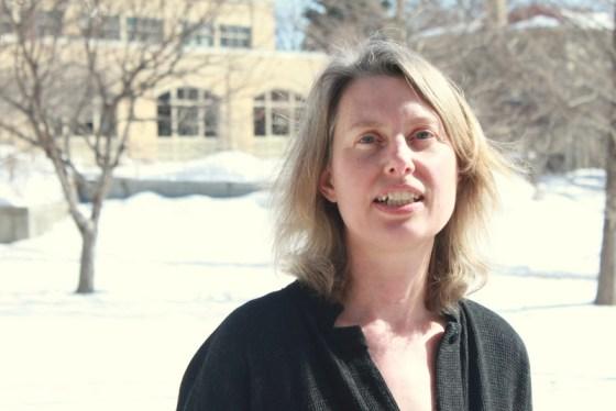 Angela Woodward snow photo