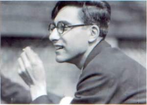 The poet Louis Zukofsky.