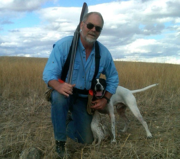 sl, bird dog pete and sharptail, Montana