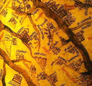 Hereford Mappa Mundi c.1285