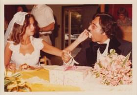 Wedding with Sharon.