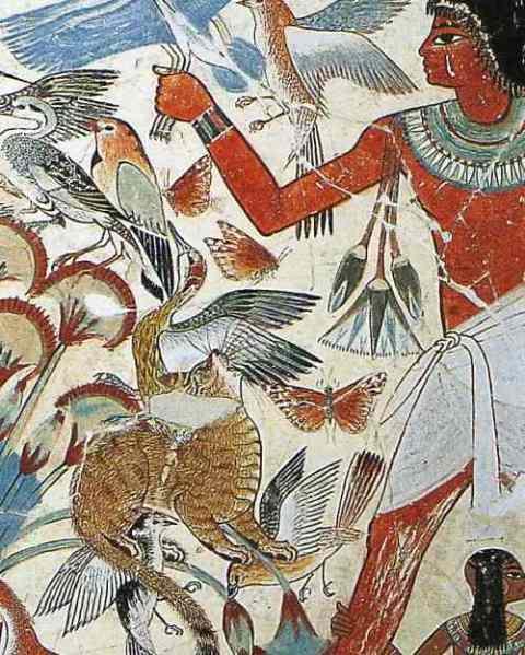 Tomb Of Nebamun Thebes Ca 1350 BC British Museum