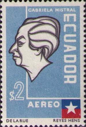 Mistral 8 _1957_Ecuador_stamp