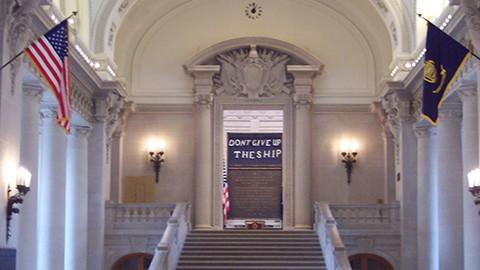 Memorial Hall, Annapolis Naval Academy