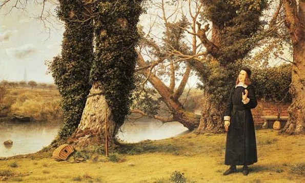 Portrait of George Herbert in Bemerton by William Dyce