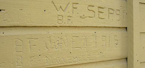 Graffiti Hamilton ON 1915
