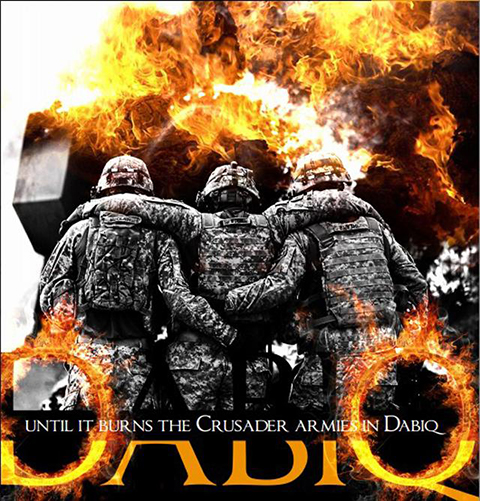 Dabiq Burns Cursader Armies
