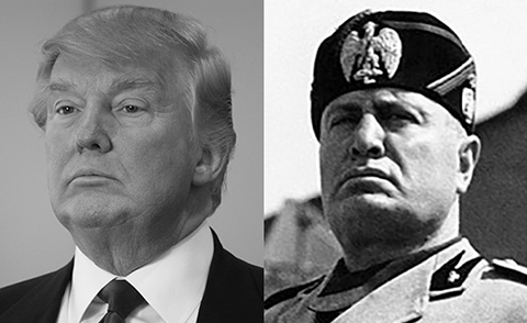 Trump Mussolini