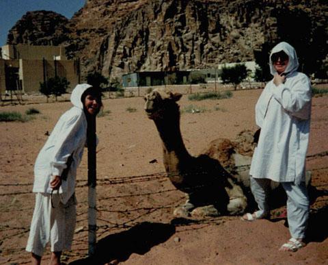 karen-mulhallen-at-petra-jordan-1992
