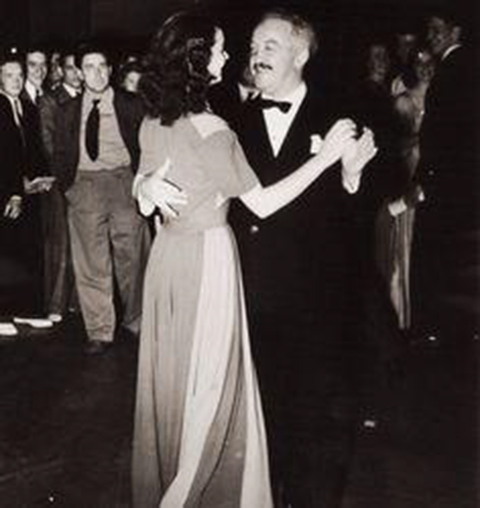 J P McEvoy dancing with Vivien Leigh